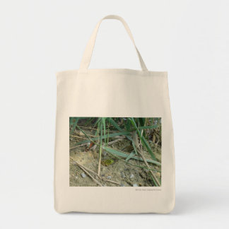 Frog in the Reeds Tote Bag