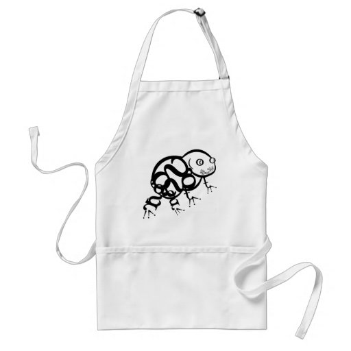 Frog in Type Adult Apron