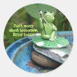Frog Inspirational Sticker