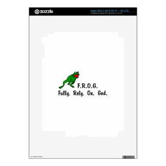 Frog iPad 3 Skins