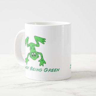 Frog It's Easy Giant Coffee Mug
