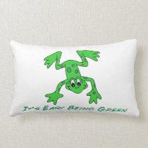 Frog It's Easy Lumbar Pillow