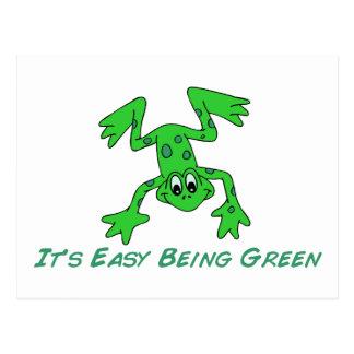 Frog It's Easy Postcard