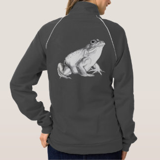 Frog Jacket Bullfrog Art Women's Hooded Jogger