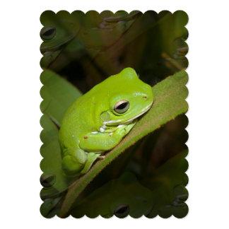 """frog.jpg invitación 5"""" x 7"""""""