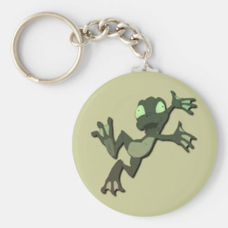 Frog Jumping Key Chain