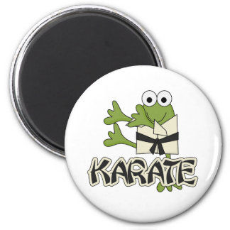 Frog Karate Tshirts and Gifts Refrigerator Magnet