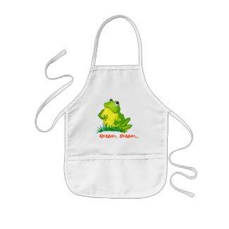 Frog Kids Apron apron