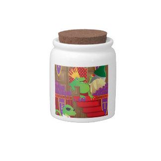 Frog King Candy Jars