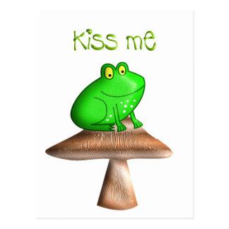 Frog Kiss Postcards