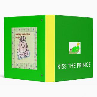 frog, KISS THE PRINCE Binder