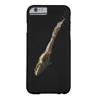 frog leaping off fresh green grass barely there iPhone 6 case
