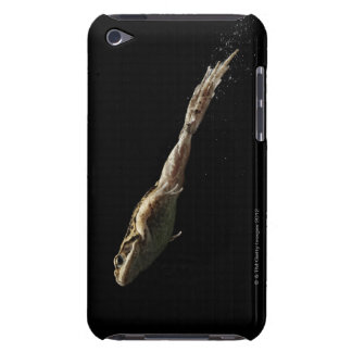 frog leaping off fresh green grass barely there iPod case