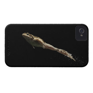 frog leaping off fresh green grass iPhone 4 cover