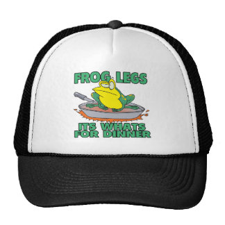 frog legs its whats for dinner trucker hats