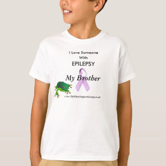 frog, lilac ribbon, I Love Someone, With T-Shirt