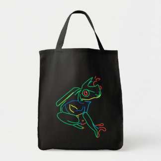 Frog Lines Canvas Bags