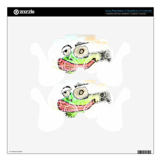Frog Lips PS3 Controller Decals