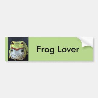 Frog Love 2 Car Bumper Sticker