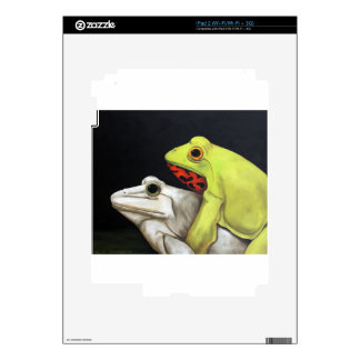 Frog Love 3 Skins For iPad 2
