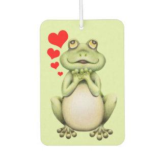 Frog Love Drawing Car Air Freshener