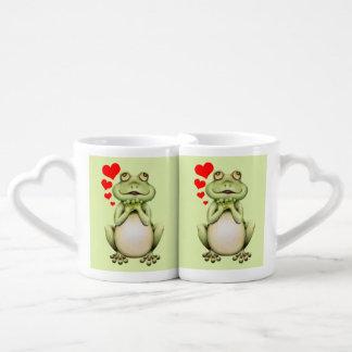 Frog Love Drawing Coffee Mug Set