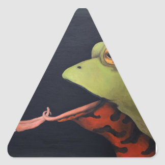 Frog Love -- The French Kiss Sticker