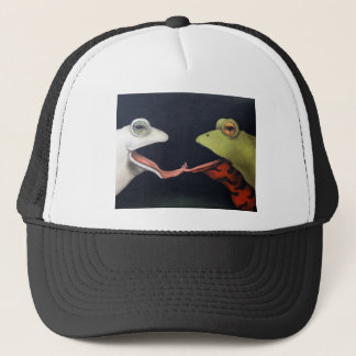 Frog Love -- The French Kiss Trucker Hat