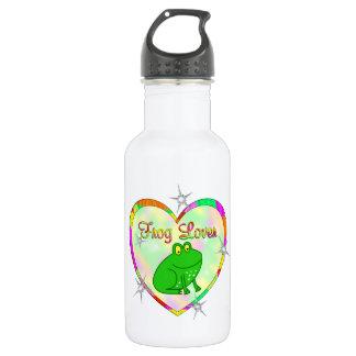 Frog Lover 18oz Water Bottle