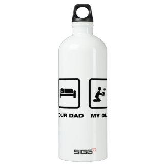 Frog Lover Aluminum Water Bottle