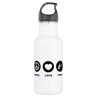 Frog Lover Stainless Steel Water Bottle