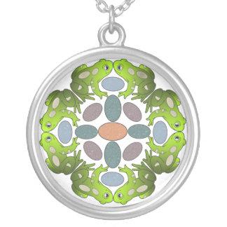 Frog Mandala Necklace