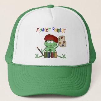 Frog Master Painter Trucker Hat