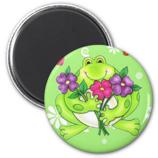 Frog Merchandise Gifts 2 Inch Round Magnet