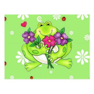 Frog Merchandise Gifts Postcard
