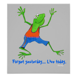 Frog Message poster