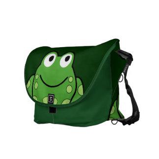 Frog Messenger Bags