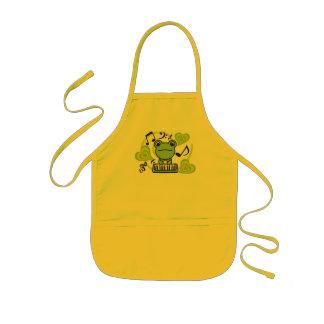Frog_Method Kids' Apron