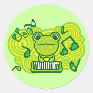 Frog_Method Classic Round Sticker