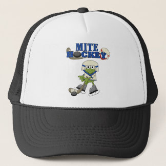 Frog Mite Hockey Tshirts and gifts Trucker Hat