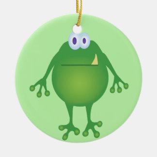 Frog Monster Ornament