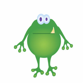 Frog Monster Sculpture