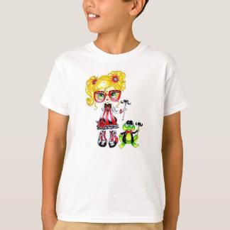 Frog Mosutache Ragamuffin T-shirt