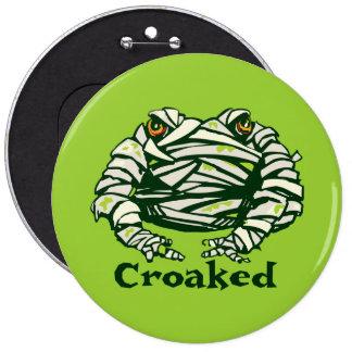 Frog Mummy Pinback Buttons