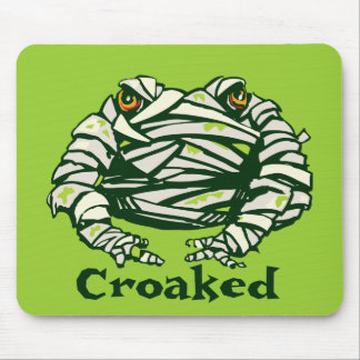 Frog Mummy Mouse Pad