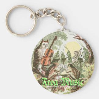 """Frog Music"" Key Chain"