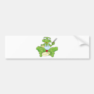 Frog n' Cheese Bumper Sticker