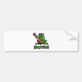 frog n roll A shine Bumper Sticker