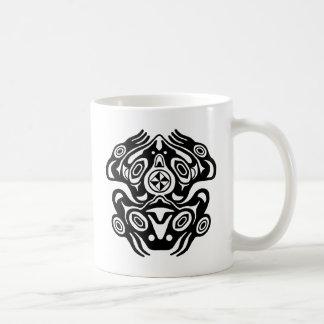 Frog Native American Design Coffee Mug