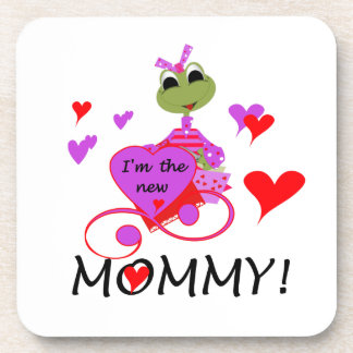 Frog New Mommy Gifts Beverage Coaster